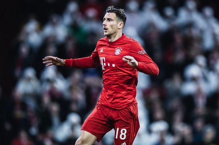 Gelandang Bayern Muenchen, Leon Goretzka.