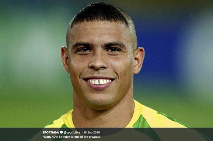 Mantan penyerang timnas Brasil, Ronaldo Nazario.