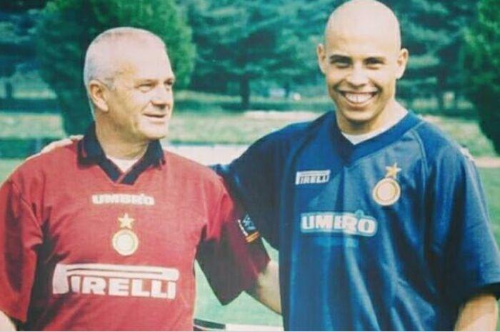 Luigi Simoni dan Ronaldo.