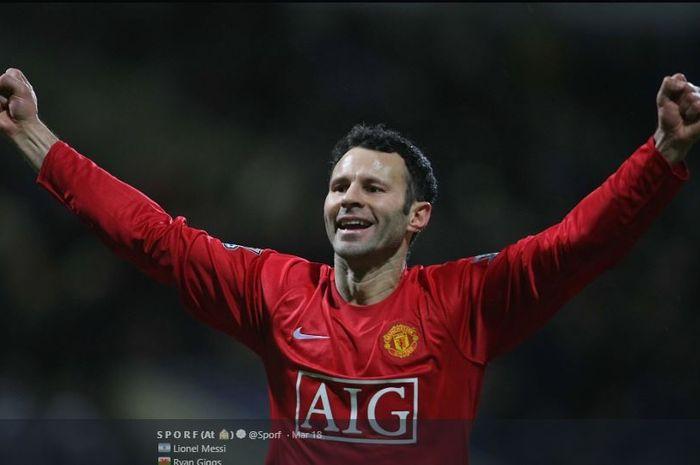 Mantan pemain Manchester United, Ryan Giggs.