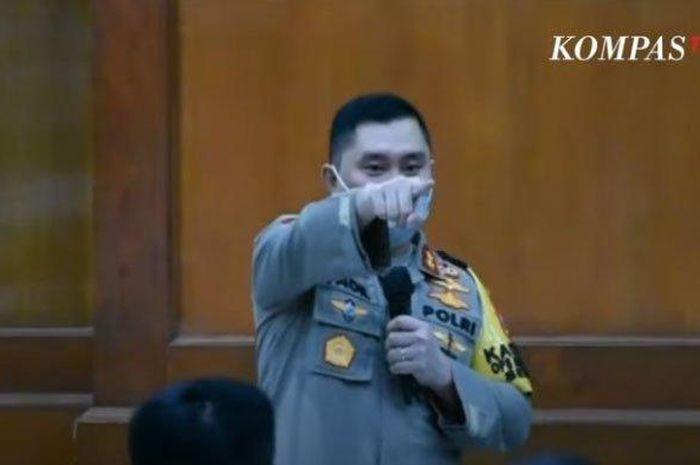 Kapolsek Tertidur Saat Rapat, Kapolda Jawa Timur U
