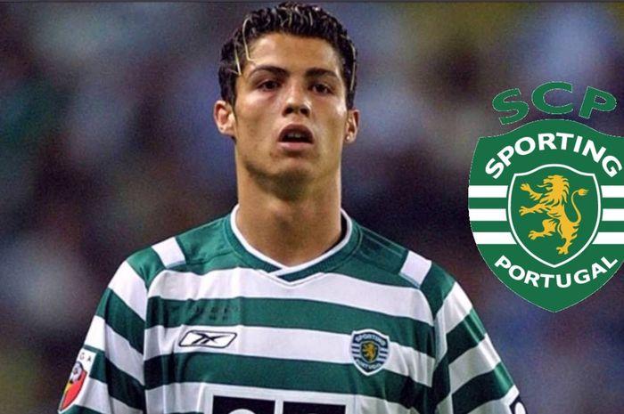 Cristiano Ronaldo dididik di akademi klub Liga Portugal, Sporting CP.