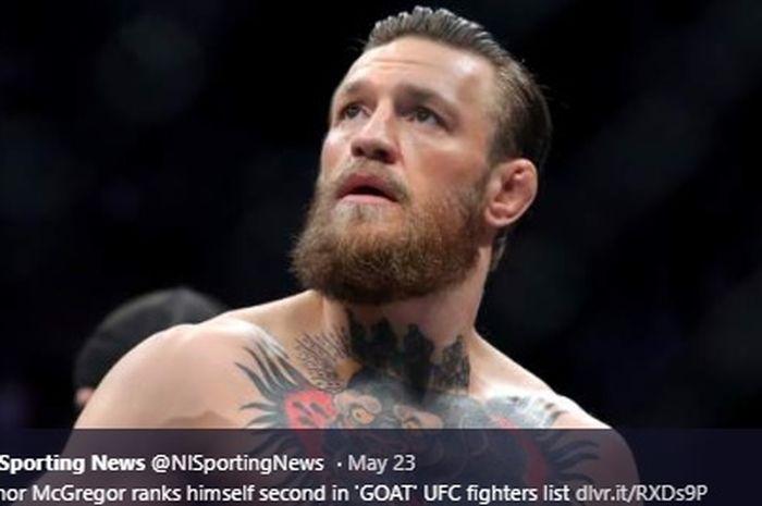 Bintang MMA, Conor McGregor diklaim takkan mau bertarung dengan petarung kelas ringan UFC ini. Siapakah dia?