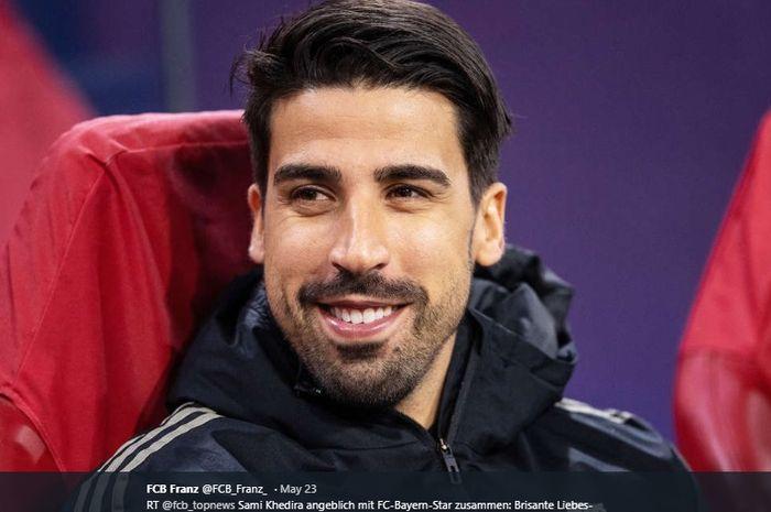Gelandang tengah milik Juventus, Sami Khedira.