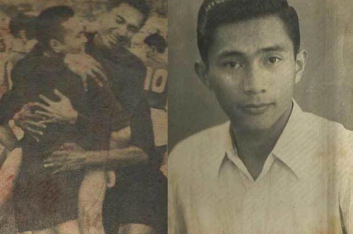 Djuju Soekadar, ayah Ricky Subagja yang juga kiper legendaris Persib Bandung era 1950-an.