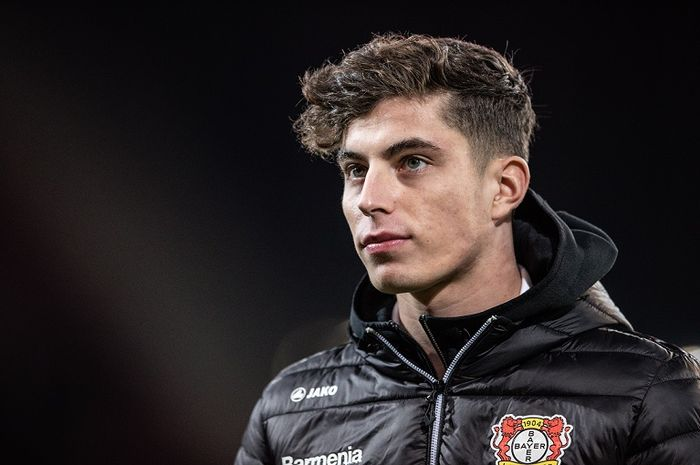 Bintang Bayer Leverkusen, Kai Havertz.