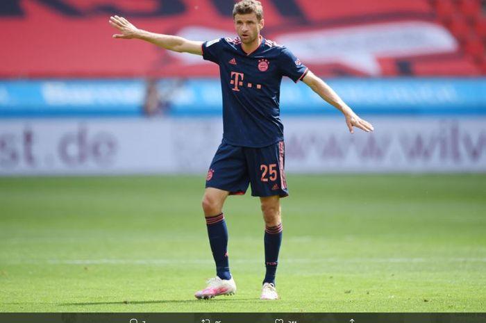 Thomas Mueller buka peluang hengkang dari satu-satunya klub yang dibelanya hingga saat ini, Bayern Muenchen.