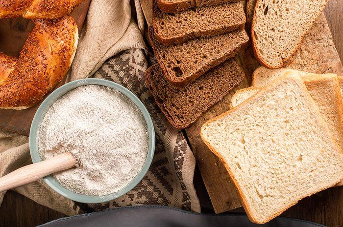 Ilustrasi makanan yang mengandung gluten
