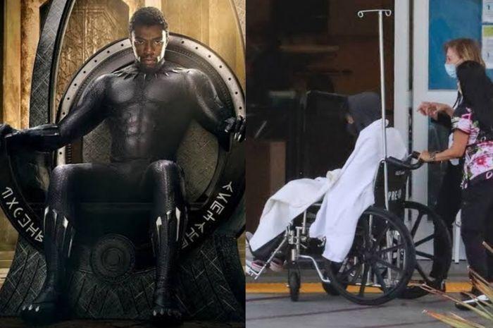Kondisi pemeran Black Panther, Chadwick Boseman dilarikan ke UGDKolase MTONews