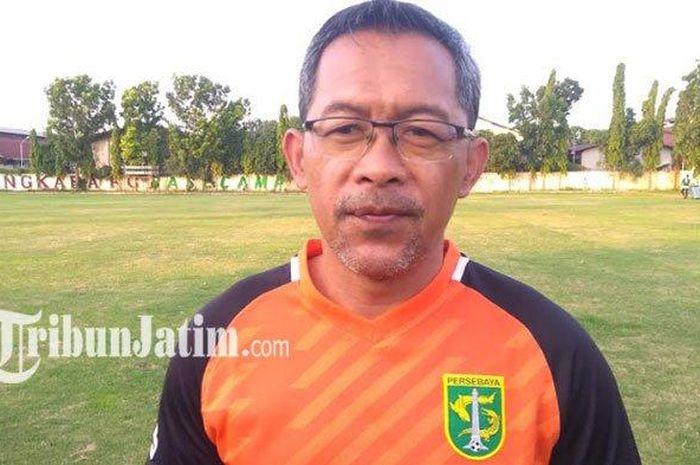 Pelatih Persebaya Surabaya, Aji Santoso, menyerahkan urusan peminjaman pemain ke manajemen.