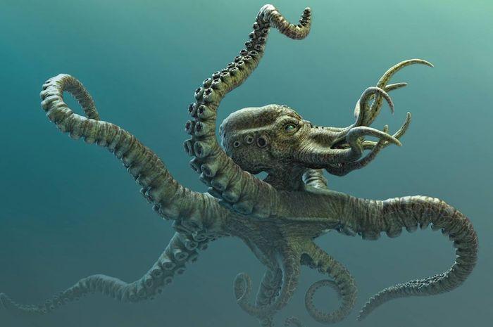 Ilustrasi Kraken