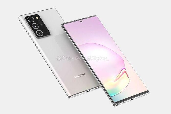 Desain Samsung Galaxy Note 20 Ultra Bocor di Situs Rusia