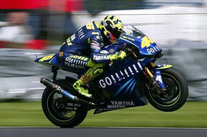 Pembalap MotoGP, Valentino Rossi.