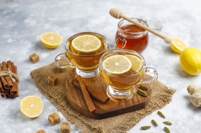 Teh lemon