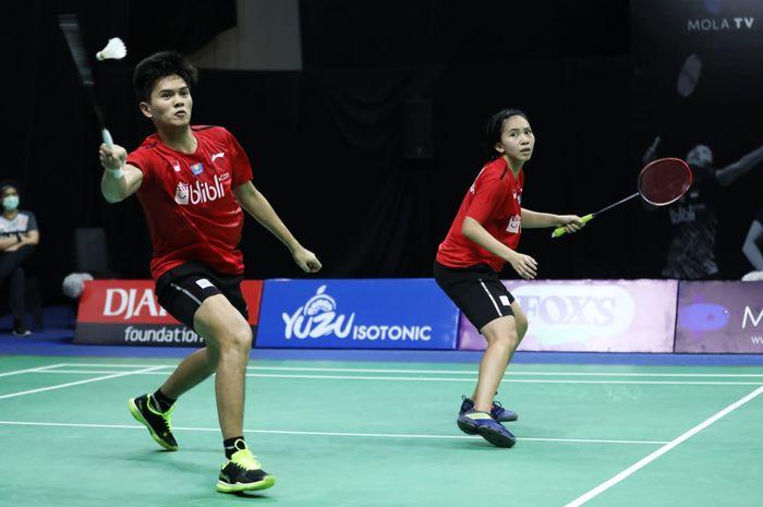 Pasangan ganda campuran Indonesia di PBSI Home Tournament, Adnan Maulana/Mychelle Crhystine Bandaso.