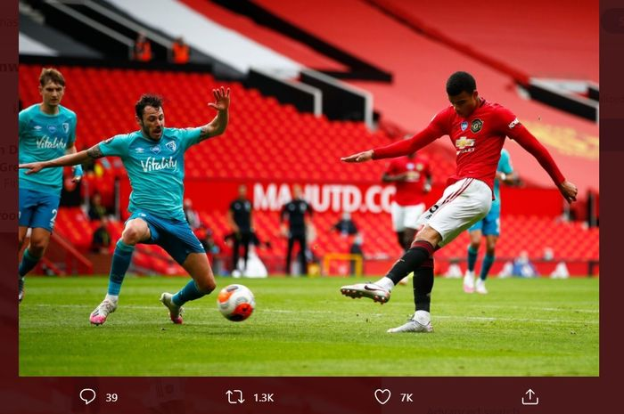Bawa Man United Menang, Mason Greenwood Ikuti Jeja