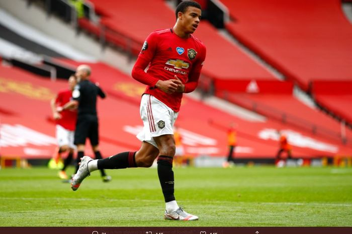 Wonderkid Manchester United, Mason Greenwood.