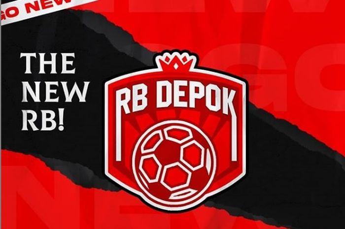 Logo terbaru dari RB Depok FC