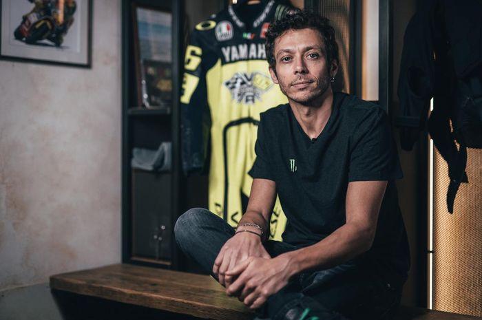 Pembalap veteran MotoGP, Valentino Rossi.