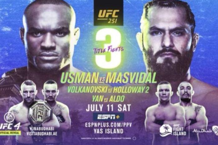Poster UFC 251.