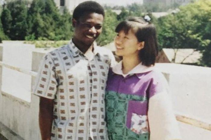 Suma dan Wang Lihong saat berpacaran.