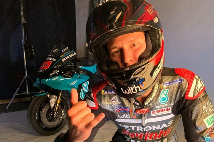Fabio Quartararo mencetak rekor lap baru FP3 MotoGP Spanyol 2020 di Sirkuit Jerez, Spanyol, Sabtu (18/7/2020) sore WIB.