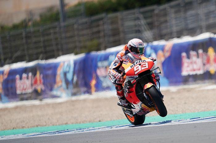 Pembalap Repsol Honda untuk MotoGP 2020, Marc Marquez.