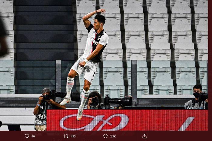 Link Live Streaming Cagliari vs Juventus - Ronaldo Kejar Top Scorer