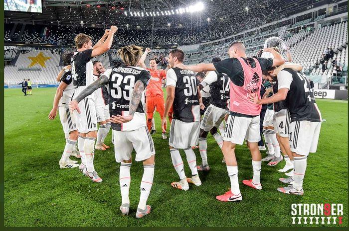 Juventus Resmi Juara Liga Italia Musim Ini dengan