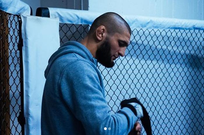 Petarung UFC , Khamzat Chimaev.