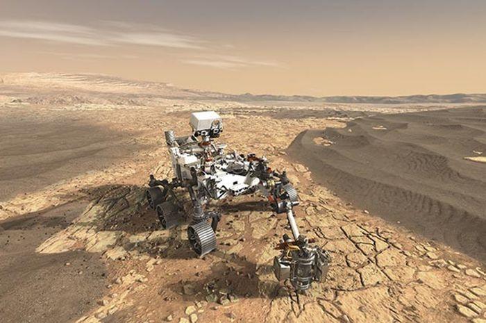 Rover Mars Ini Punya Teknologi Pembuat Oksigen dar