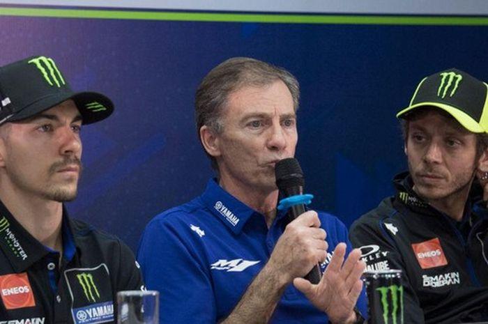 Lin Jarvis klaim Yamaha sudah punya paket lengkap di MotoGP 2020.