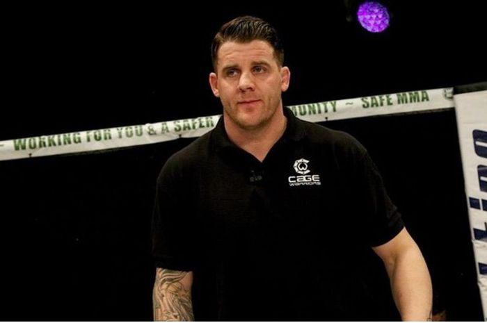 Wasit UFC, Marc Goddard.