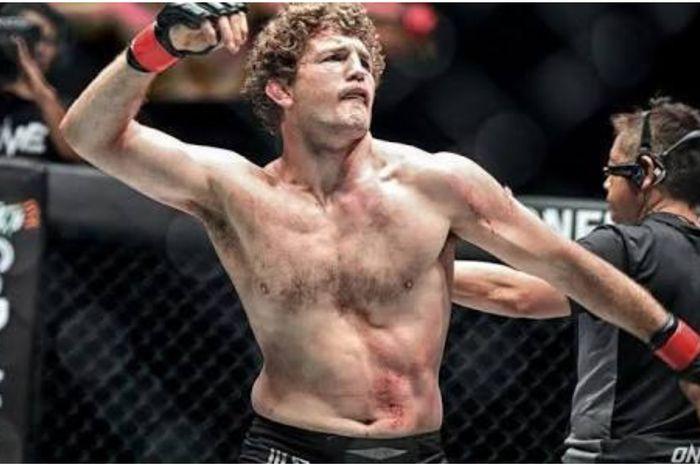 Petarung MMA, Ben Askren, ketika berlaga di ONE Championship.