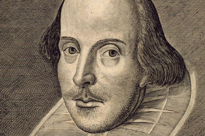 William Shakespeare (1564–1616), dikenal sebagai pujangga, dramawan, asal Inggris. Selama pagebluk pes, metafora tentang wabah hadir dalam karya-karya teaternya.