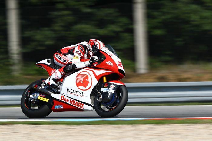 Andi Gilang pangkas waktu 1 detik di Moto2 sirkuit MotoGP Brno Ceko 2020