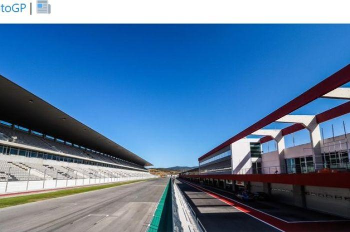 Sirkuit Algarve di Portimao, Portugal, akan menjadi tuan rumah seri balap penutup MotoGP musim 2020.
