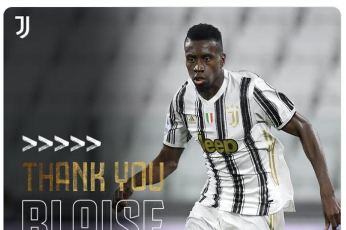 Juventus berpisah dengan Blaise Matuidi berdasarkan persetujuan bersama.