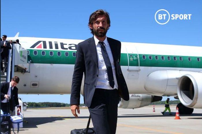 Pelatih baru Juventus, Andrea Pirlo.