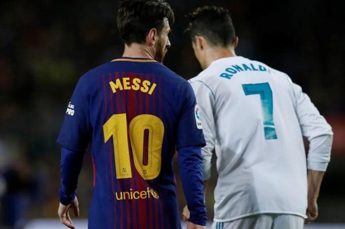 Lionel Messi dan Cristiano Ronaldo.