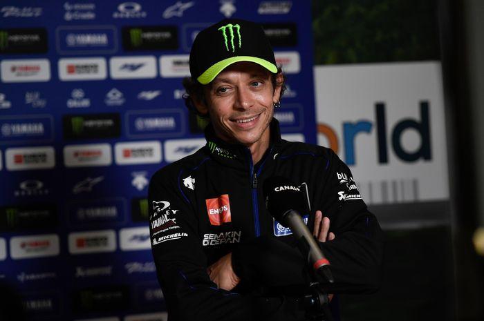 Valentino Rossi paham kondisi Marc Marquez yang absen panjang di MotoGP 2020