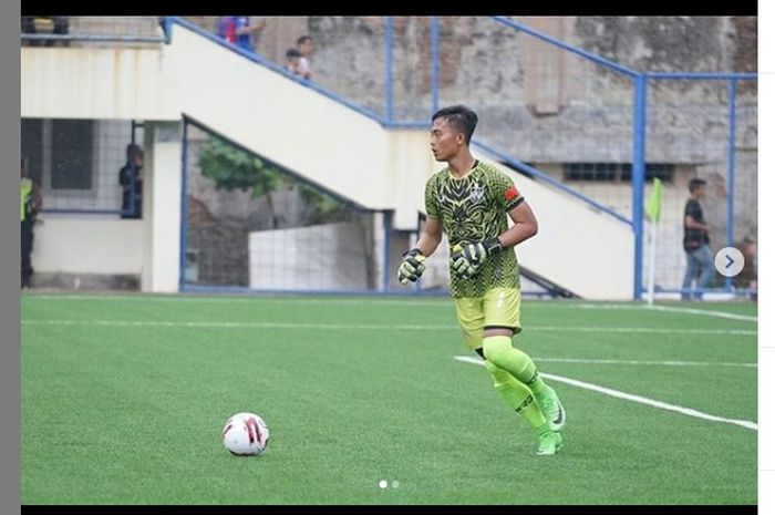 Kiper PSIS Semarang,  Yofandani Damai Pranata dipanggil ke timnas U-19 Indonesia