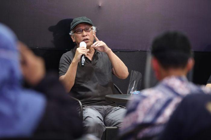 Iwan Fals dalam jumpa pers virtual peluncuran buku 'Air Mata Api', Kamis (3/9/2020).
