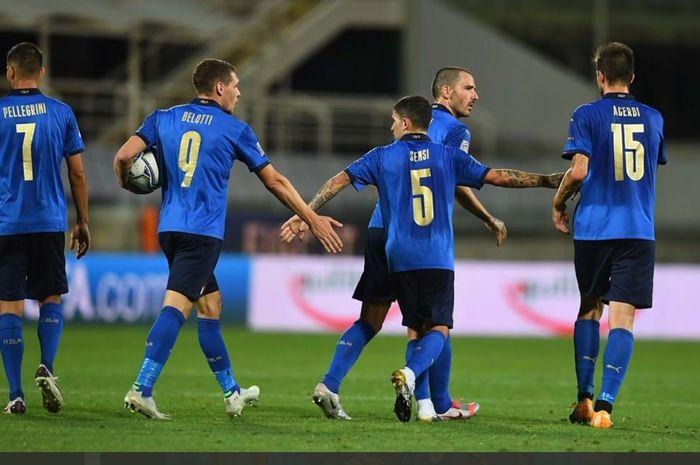 Susunan Pemain Belanda Vs Italia Roberto Mancini Sudah Tak Salah Lagi Pasang Pemain Bolasport Com