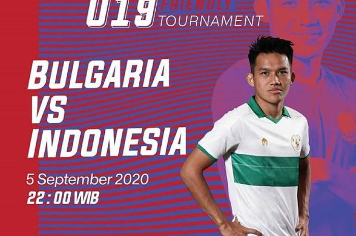 Timnas U-19 Indonesia akan menghadapi lawan yang bakal tampil ganas, Bulgaria, karena baru saja ditekuk Kroasia 3-2 dalam International U-19 Friendly Tournament 2020.