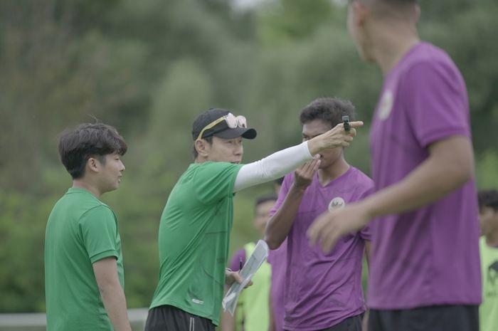 Shin Tae-yong minta satu hal pada skuad Timnas U-19 Indonesia jelang lawan Kroasia.