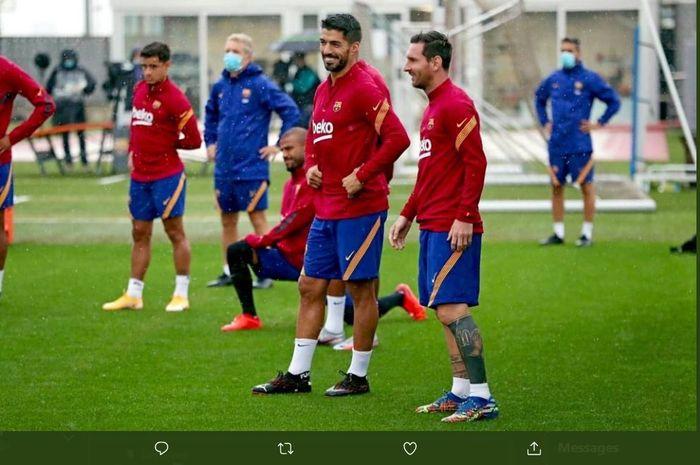 Siap Membelot, Luis Suarez Bisa Jadi Musuh Lionel Messi Setiap Musim