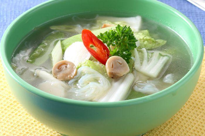 Sup Sawi Putih