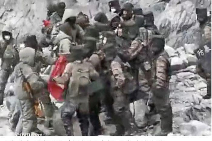 Bocor! Rekaman Perang China dan India di Perbatasan Beredar Luas, Analis Bongkar Gertakan Negeri Panda Tak ... - Sosok