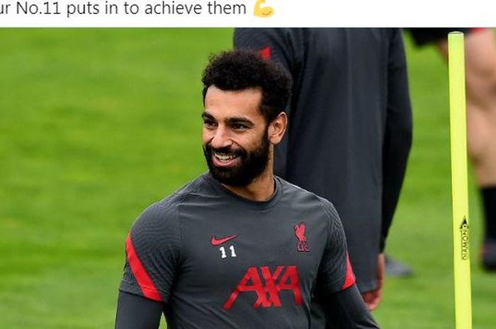Penyerang Liverpool, Mohamed Salah.